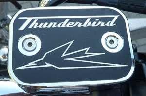 Bouchon de réservoir de liquide de freinage pour Triumph Thunderbird 16001700Storm LT Rocket Touring En aluminium