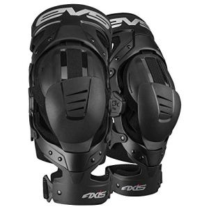 EVS Genouilleres Axis Pro Black Copper-M