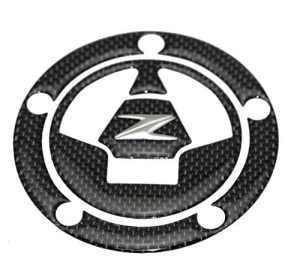 KODASKIN-EU Réel En Fiber De Carbone Réservoir De Gaz Cap Pad Remplissage D'autocollant Autocollants Fit Pour KAWASAKI Z1000 Z800 Z750 Z250 Z1000SX (capuchon)
