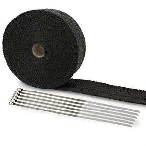 LIHAO 10M Bande de Protection Thermique avec Serre-Flex en Métal
