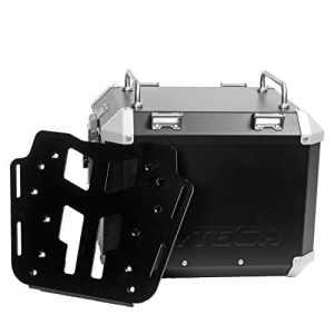 MyTech Kit Top Case–33litres noir et plaque de fixation pour Honda x-adv pour porte-bagages d'origine honda