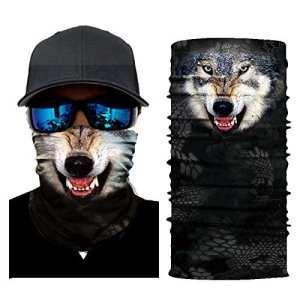 Roblue Bandana Global Multi-Fonctions pour Homme et Femme Foulard de Sports en Polyester 25 * 51cm