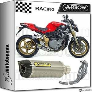 Arrow Kit complet Race Thunder titane carby mV-agusta brutale 91020080871110pk + 71353Me + 71326Me
