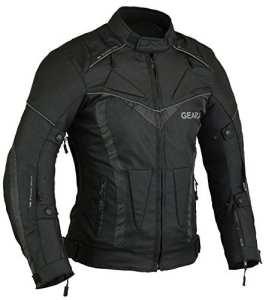 BorneAir Veste de Protection Moto étanche avec des évents, L