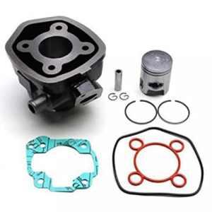 Cylindre MBK Nitro pour 50 cc de NC a 562 etat Neuf Cylindre fonte modele liquide piston D 40 mm avec axe de piston circlips joints