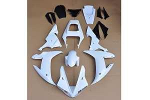 Gowe Moule d'injection de ABS brut Naturel carrosserie Carénage pour Yamaha YZF R120022003[Ck1024]