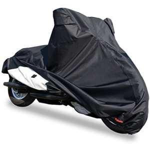 Housse vélo [6L] Super hydrofuge qui ne Fondent pas la chaleur étanche épais. Il n'est pas Stuffy OX 300d. «non. Big Scooter Harley, etc.