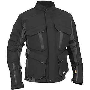 Juicy Trendz Veste Moto Lourde Duty Motard Blouson en Cordura Motorcycle Jacket
