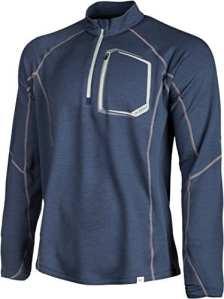 KLIM Teton Merino Wool T-shirt à fermeture Éclair 1/4