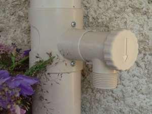 Récupérateur d'eau de pluie CAPT'EAU pour conduits circulaire (SABLE)