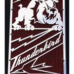 Cache radiateur/Grille de radiateur Thunderbird 1600/1700″ Bulldog + Grillage Rouge