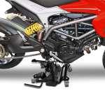 Chariot de déplacement moto ConStands pour béquille centrale noir