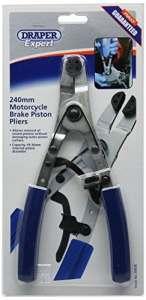 Draper Expert 30838 Pince pour piston étrier de frein moto 240 mm