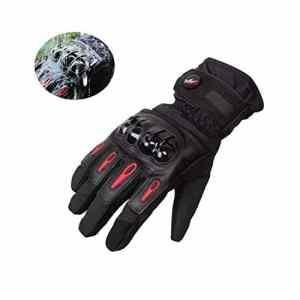 Hiver Gants de moto, Imperméable et Coupe-vent, Écran Tactile Gants pour Moto, Hiver Randonnée et Autres Sports de Plein Air – M / L / XL