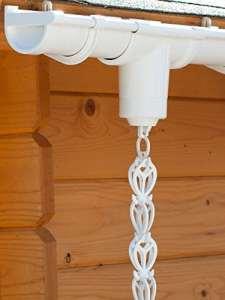 Kit de chaîne de pluie | blanc