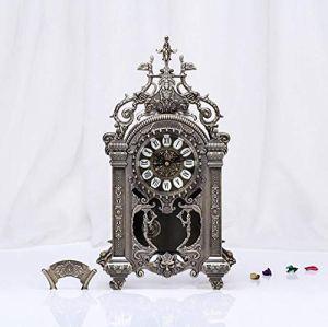 LIJIANGUO Horloge Classique Européenne D'horloge De Table Antique Européenne