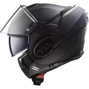 LS2 Casque moto VALIANT NOIR MAT LIMITED Edition – XL, Noir, Taille XL