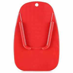 RRunzfon J001Béquille latérale pour béquille latérale pour Moto Rouge