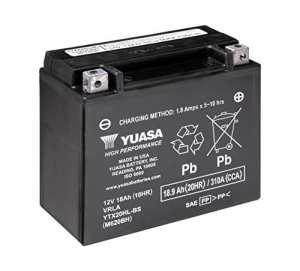 YUASA YTX20HL-BS Batterie de Moto