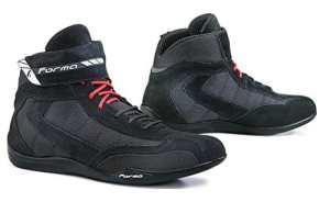 Forma FORT6909944 Basket Moto Rookie Pro Homologuée CE, Noir, Taille 44