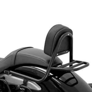 Sissy Bar + porte paquet Fehling Honda Shadow 750 Black Spirit (VT C2B) 10-16 noir