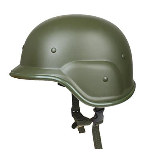 Tookang Femme/Homme Militaire en ABS avec Le Montage Casque Tactique De La Version pour Airsoft Paintball CS