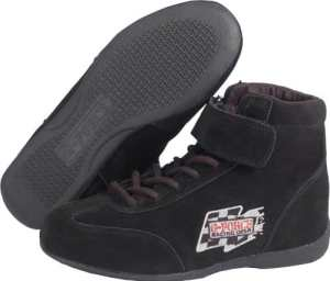 G-Force 0235030bk Race Grip Mid-Top Racing Chaussures