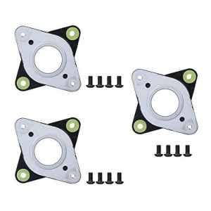 NEMA Lot de 3 amortisseurs à vibrations en acier et caoutchouc avec vis M3 pour machine CNC Creality CR-10,10S