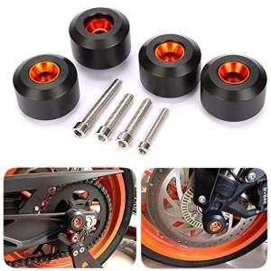 CICMOD 2x Fourche roue Frame Slider Crash Protector pour KTM 125 200 390 Duke K-Avant et Arrière