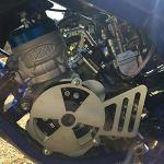 Easyboost Couvercle Allumage Cache Pignon AM6 Carter Minarelli Rieju MBK XLIMIT XPOWER Sherco Yamaha DT XP6 XPS Beta TZR MRT – Conçu pour les Runs Protéger Rotor Interne Externe – Fabriqué en FRANCE