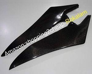 Hot Sales, 2x Réservoir en fibre de carbone Panneaux de Couvertures de côté pour Yamaha YZF R1200920102011201220132014Yzf-r1Réservoir côté Panneau de Coque
