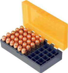 SMARTRELOADER Boîte de rangement #14 pour 50 cartouches .357 Magnum