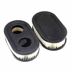 SWNKDG Lot de 2 Filtre à Air pour Briggs & Stratton Remplace Briggs # 798452 Compatible avec les modèles 09p702 9/10 Hov 140 cc 500–500 E & EX Series Promenades