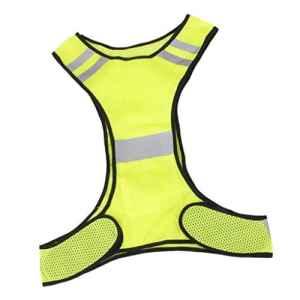 Veste Gilet de Sécurité Réfléchissant Pour Course Jogging Vélo Marche – Jaune