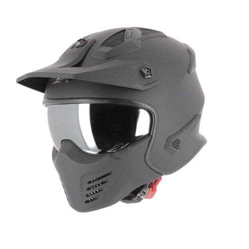 matt black Coque en polycarbonate Astone Helmets Casque de moto polyvalent Casque de moto homologu/é RT1200 Monocolor- Casque de moto modulable