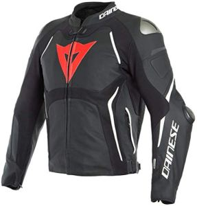 Dainese Tuono D-Air® Veste en cuir pour moto
