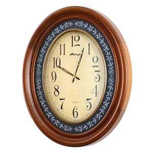 HE-clock Européenne Grande Solide Bois Horloge Murale Mute Quartz Horloge Murale Moderne Villa Salon De Luxe Horloge Horloge Murale Vintage Home Decor