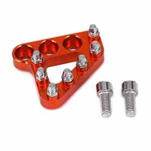 Moto Billet Arrière Pédale de frein Step Plate Remplacement de pointe pour KTM 125 250 300 350 450 530 690 950 990 SX EXC XCF SXF XC XCW EXCF EXCW EXCF SMR Orange