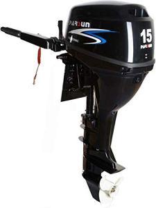 PARSUN Moteur 4T 15 CV électrique/Court