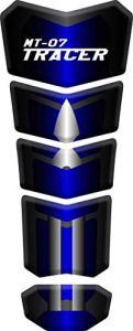 Protège Réservoir Moto Tank Pad Sticker Autocollant YAMAHA MT-07 Tracer (Blue)