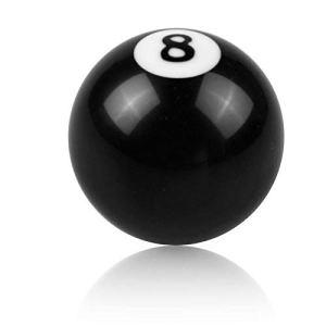 SODIAL 8 Balles Règlement Pommeaux De Levier De Vitesses Table De Billard Remplacement De Billard