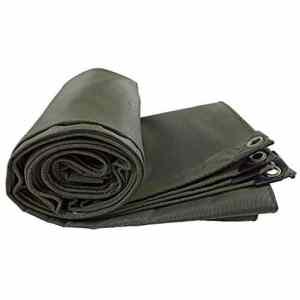 Tarpaulin Home Experience Bâche épaississante de bâche imperméable imperméable avec Oeillets -100% résistant aux UV, épaisseur 0.75mm (Taille : 5x8m)