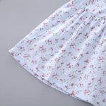 Bébé Fille Mode Tenues 2pcs pour Nouveau-né ABsoar Jupe de Enfant Fille O-Cou Tenues Manchon Volant imprimé Vetement Fete Princess Tutu Robe pour Filles 6mois-4ans