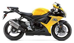 BEESCLOVER Carénage de Moto pour Suzuki GSXR GSX-R 600 750 GSXR600 GSXR750 2011 2012 2013 2014 K11 ABS Plastique Kit de carénage par Injection Yew Show