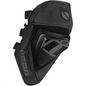 Cloverleaf knee slider black l/xl – 2704-0332 – Icon 27040332