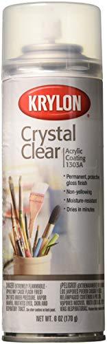 Crystal Clear acrylique revêtement Aérosol Spray-6 onces