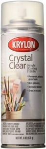 Crystal Clear acrylique revêtement Aérosol Spray-6 onces