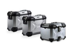 Générique SW-MO 72050453 ADV. Set Luggage Silver. Tiger1200-XC-XR-XRx-XRt-XCx-Xca Set