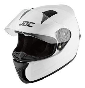 JDC Casque Moto Intégral – Prism – Blanc – M