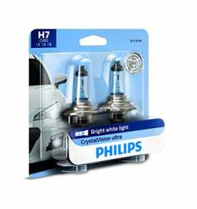 Philips CrystalVision Ultra 12972 cvb2 xénon h7 55 W PX26d Car Light Bulb – Car Light Bulbs (H7, 55 W, xenon, Fog Light, High Beam, Low Beam, PX26d, 4000 K)